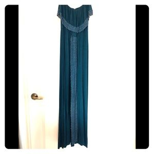 L Space tube Top maxi dress small